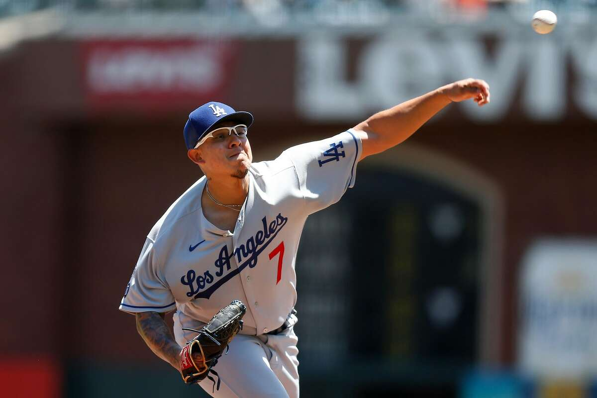 Dodgers pitcher Julio Urias will start Game 2 against the Giants inthe National League Division Series.