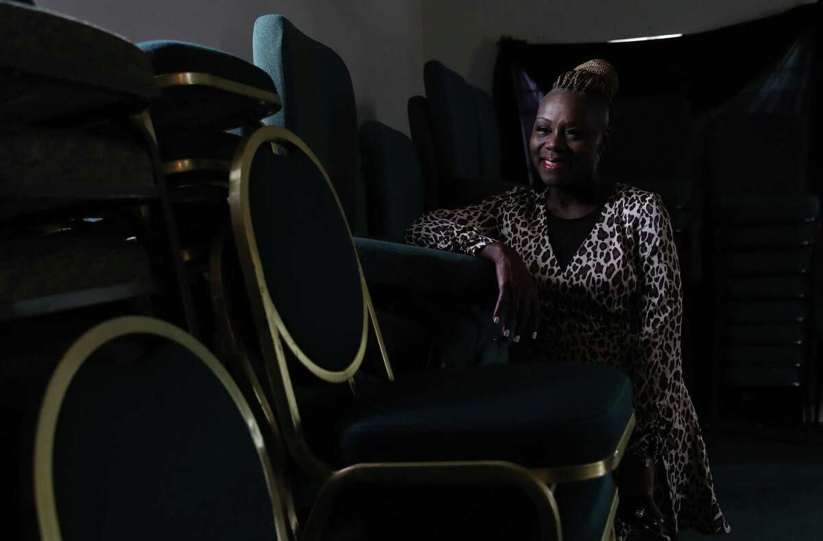 Pastor Tabatha C. Whitten poses for a portrait Thursday, May 20, 2021, at Remnant Fellowship Ministries Int. in Houston.