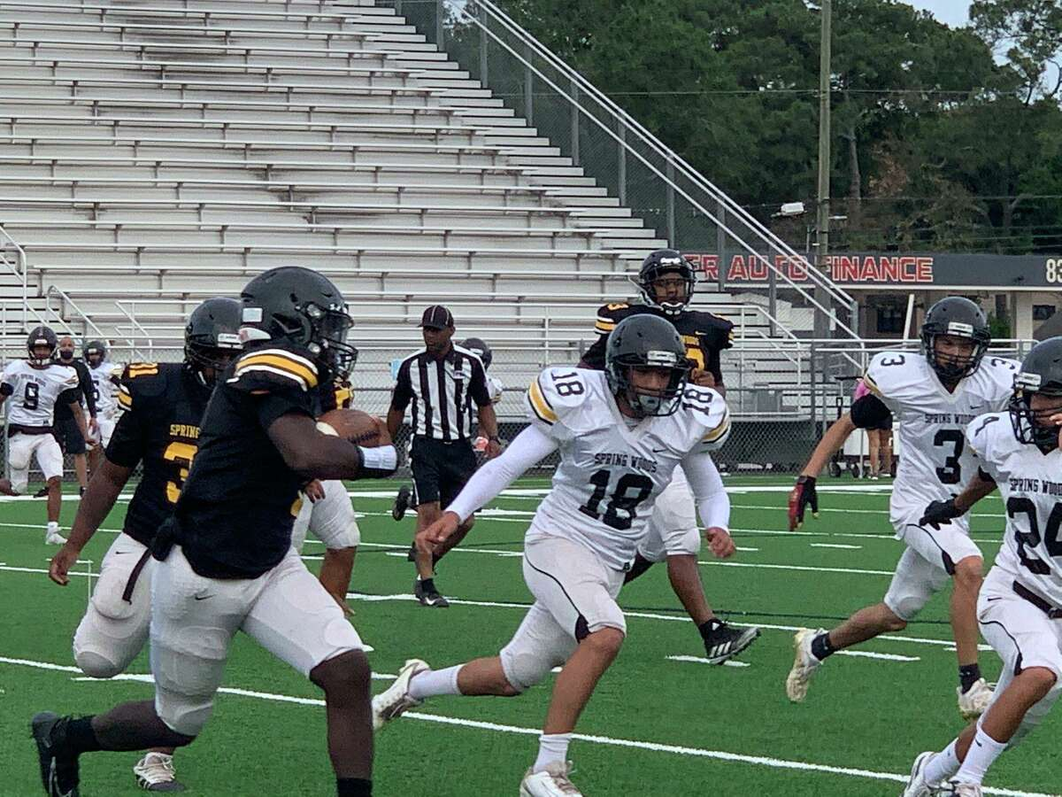 Spring Woods played its Spring Football Game at its home field on May 20.