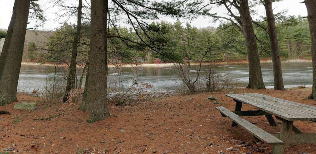 Chatfield Hollow State Park, Killingworth Where to swim:Schreeder Pond (unguarded)