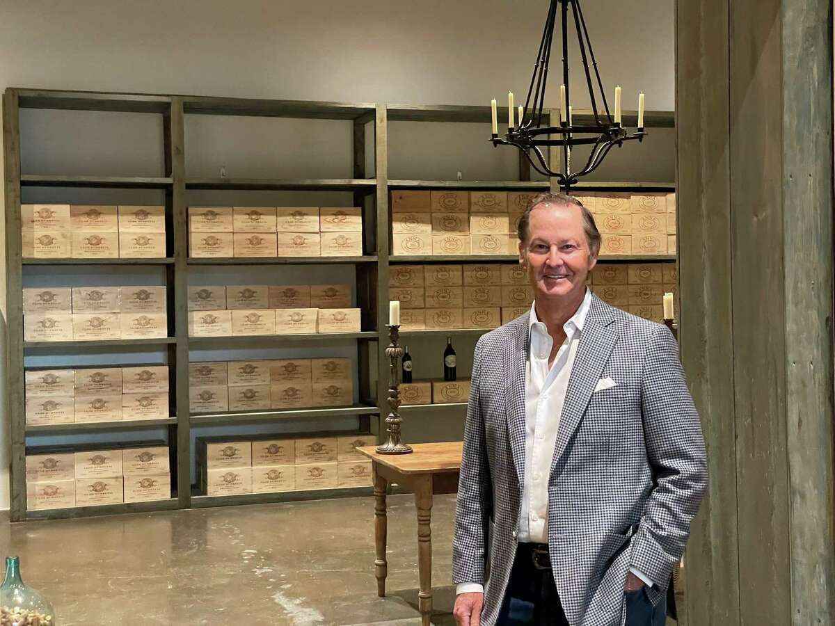 Ralph Eads at his tasting room in Houston