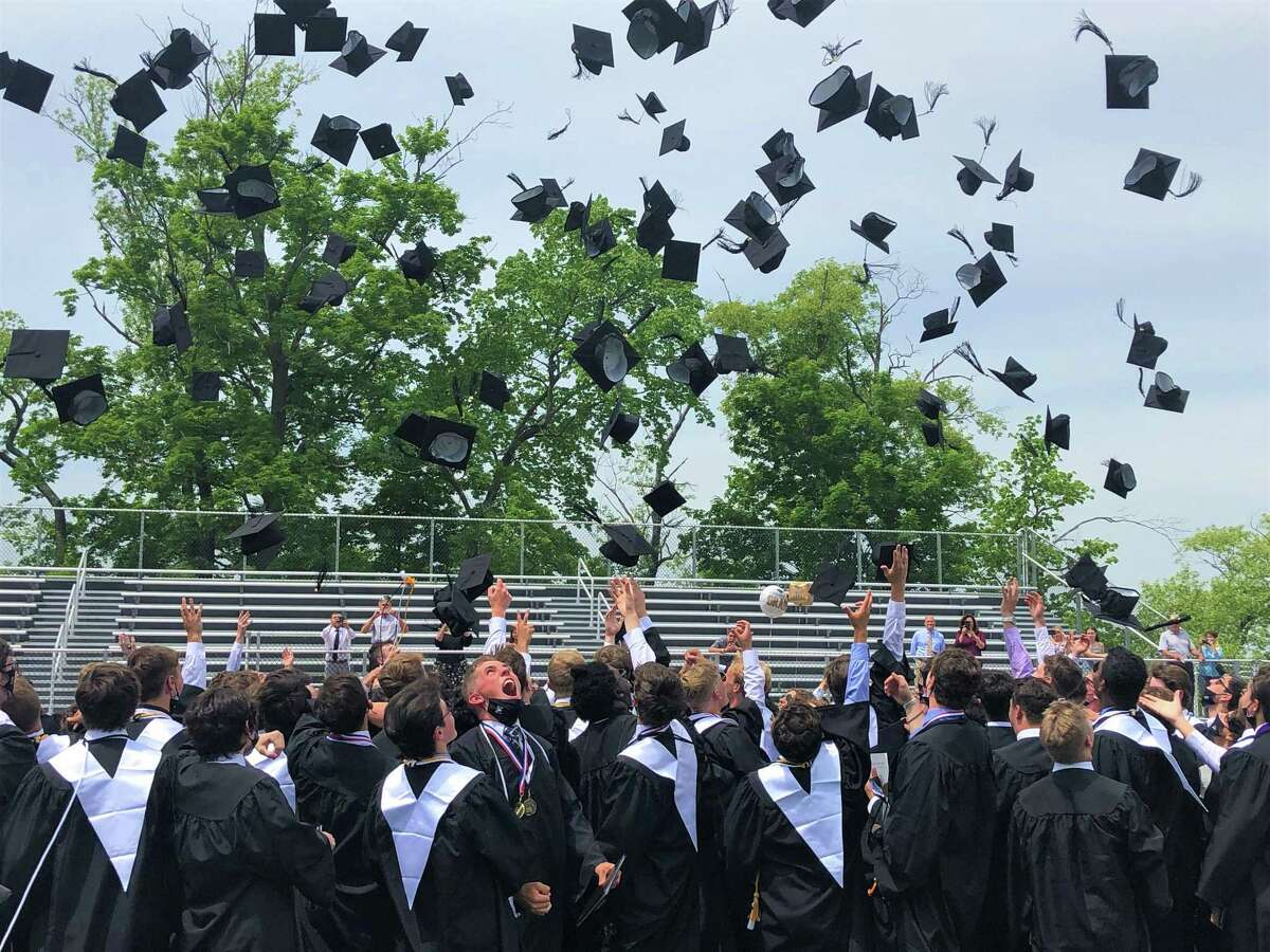 Xavier High School's 55th commencement ceremony was held this weekend in Middletown. In all, 148 students in the class of 2021 graduated.