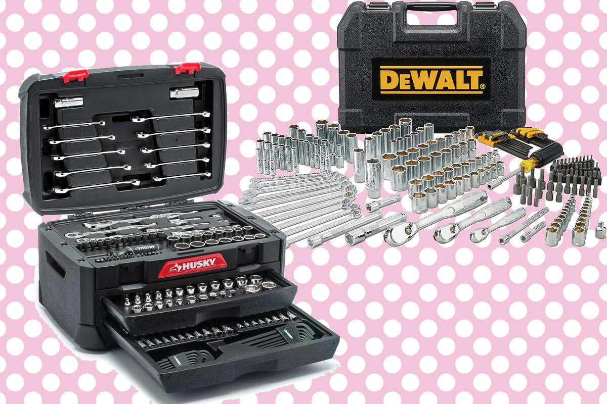 DEWALT Mechanic's Tool Set for $99 Husky Mechanic's Tool Set for $99