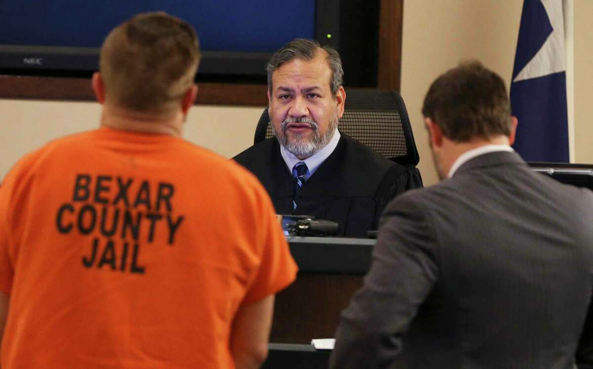 State District Judge Ron Rangel, shown in this file photo, has come up with a plan for in-person jury trials to resume in June 2021.