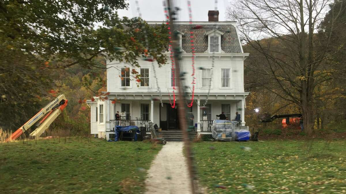 """""""A Quiet Place Part II"""" filmed three days in the Hudson Valley for its sequel, including at the Pawling farmhouse, pictured above, which is the movie family's home also featured in the first movie."""