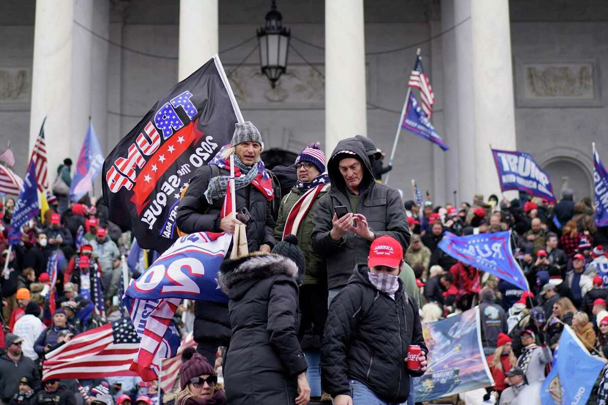 Insurrectionists, inspired by President Donald Trump's Big Lie of voter fraud, storm the Capitol. It is unfathomable to believe that in the 2024 elections Americans will choose the party that produced more voter restrictions and threatened democracy.