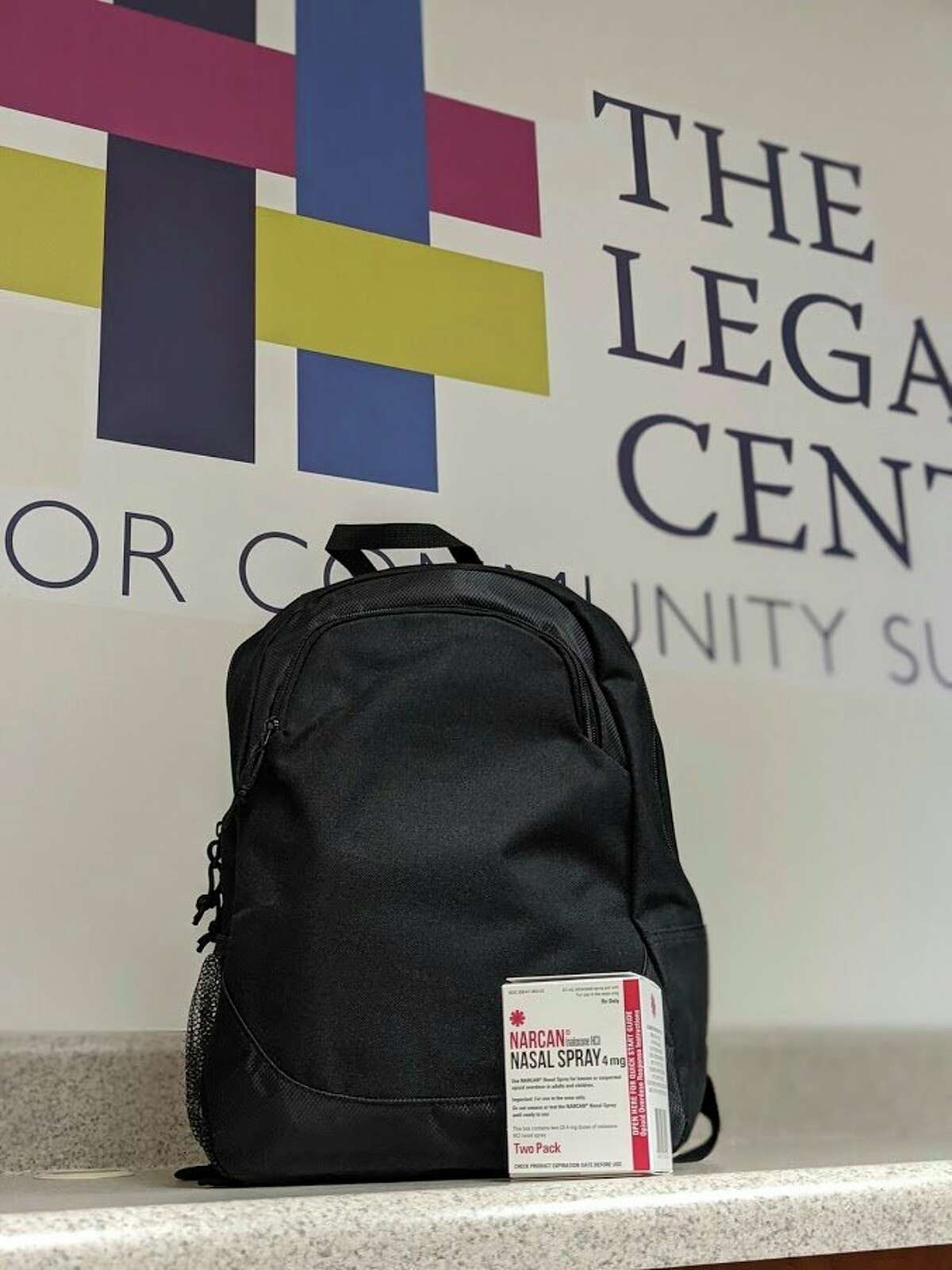 With the help of the Midland County Sheriff's Office and Forgotten Man Ministries, the Midland County Treatment and Recovery Coalition began the process of assembling backpacks that contained Narcan, an opioid overdose reversal drug, for persons exiting the jail. (Photo provided)