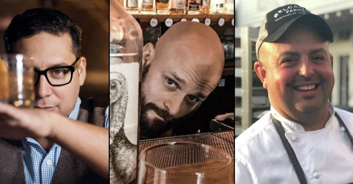 Three Star Bar is coming to the former Grayze space on Grayson Street in Government Hill near the Pearl in July. The restaurant and bar is co-owned by Jeret Peña of Hello Paradise and the Boulevardier Group, left, bartender and general manager Rob Gourlay and former Cookhouse chef Josh Calderon.