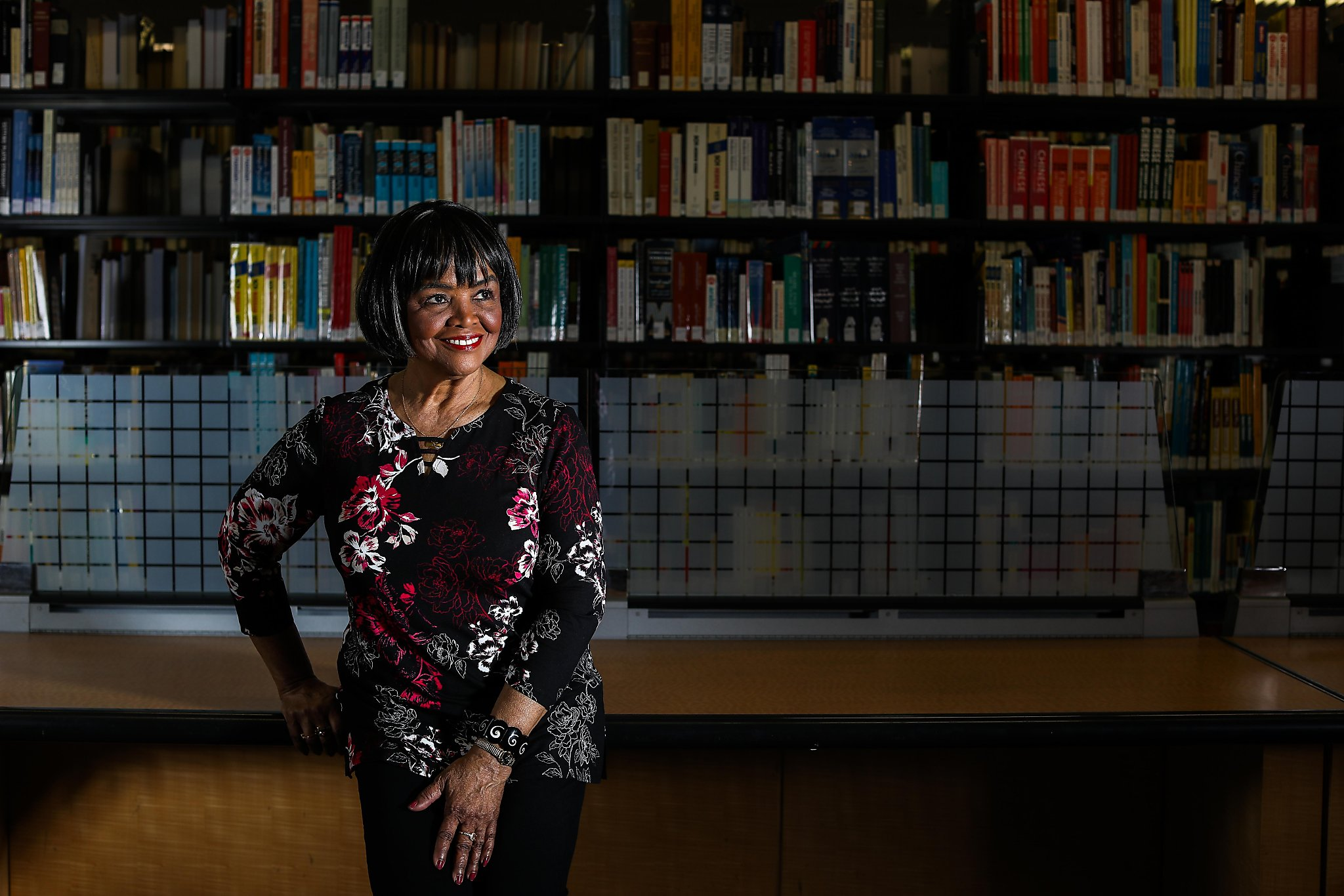 Barbara Rodgers saw no Black journalists growing up, but she became an icon