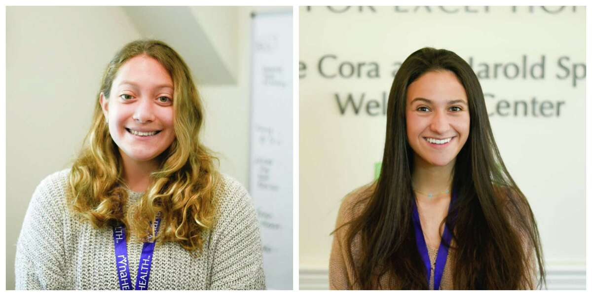 For four weeks from mid-May through mid-June, Ridgefield High School seniors Isabella DeMassa and Ally Rosenbaum will perform their senior internships at RVNAhealth. Both will be studying health-related fields in college, and both selected RVNAhealth for the hands-on experience.