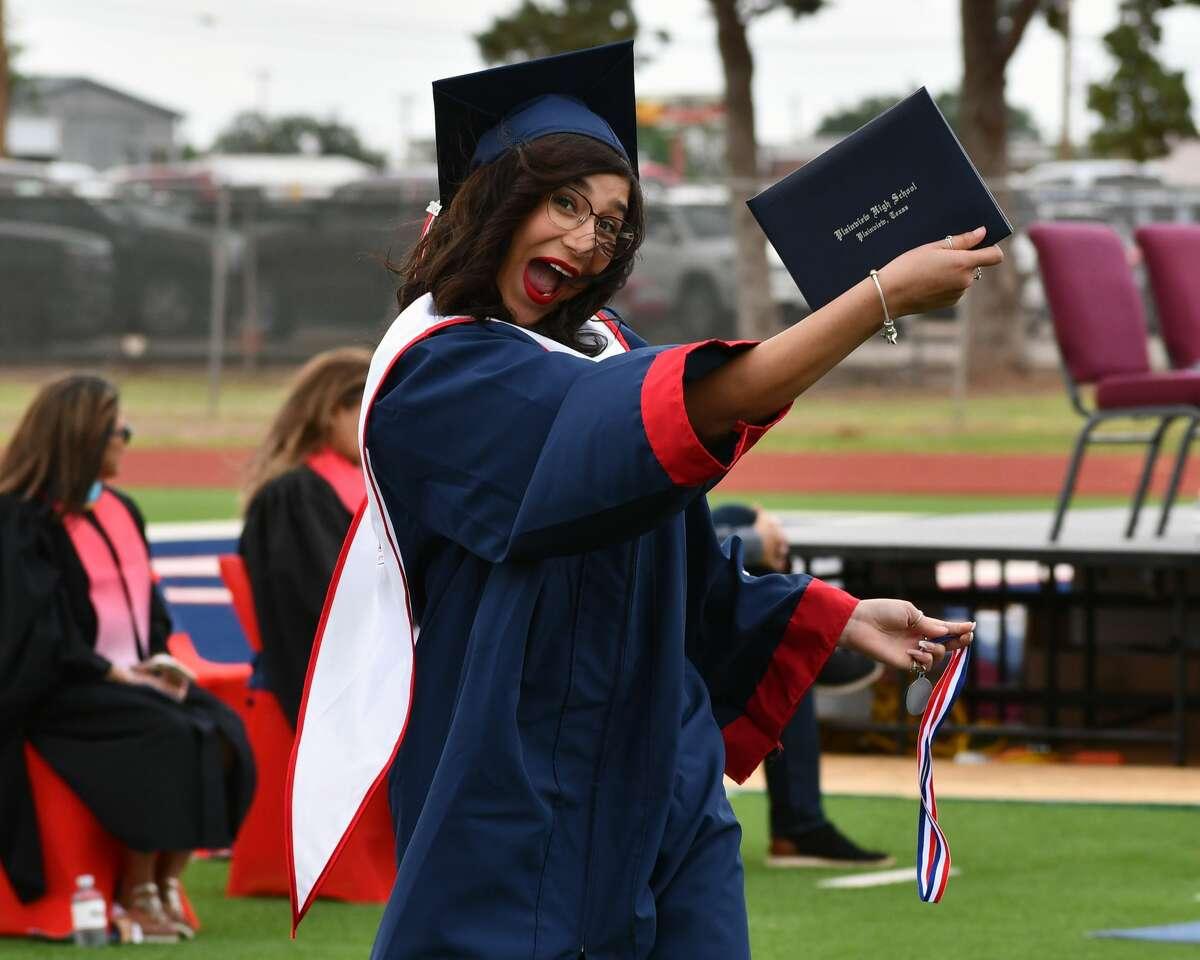 Plainview High School held its 2021 graduation ceremony on Saturday morning at Greg Sherwood Memorial Bulldog Stadium.