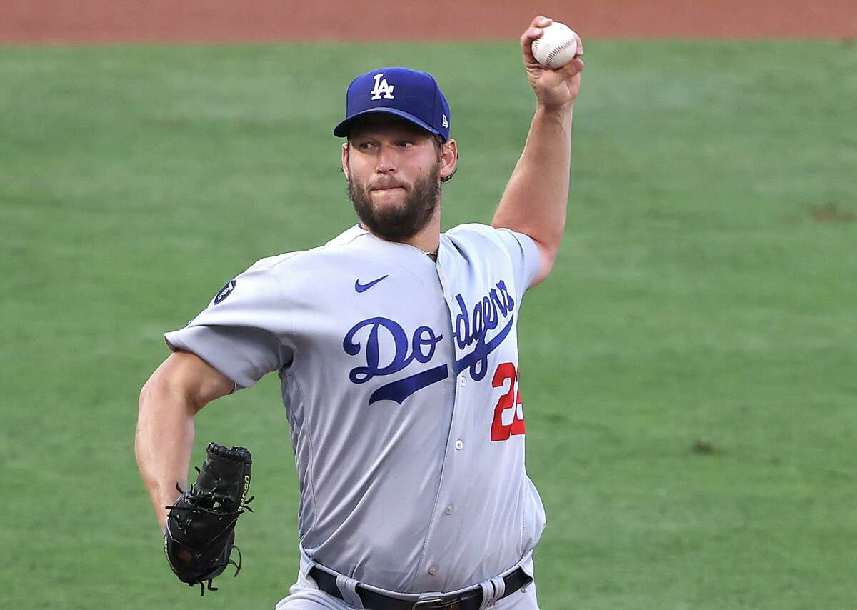 Three-time Cy Young Award winner Clayton Kershaw will take the mound for the Dodgers when they open a two-game series against the Astros at Minute Maid Park on Tuesday night.
