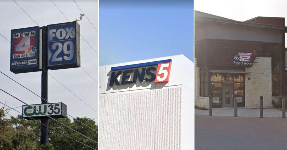 San Antonio TV stations include News 4, FOX-29, KENS 5 and KSAT 12