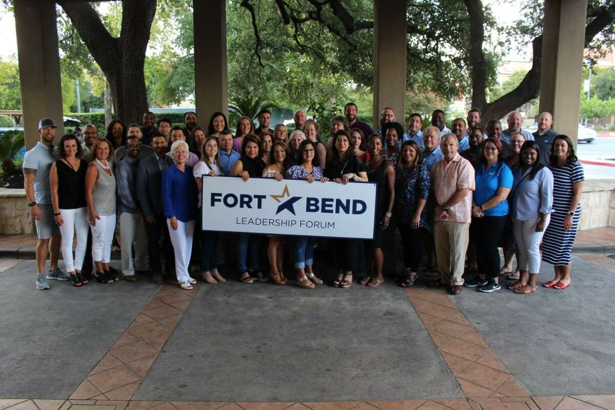 """Congratulations to Fort Bend Chamber of Commerce's Leadership Forum's class of 2020. The program was started in 1987 with the goal of educating participants on """"how things work"""" in our community and county."""