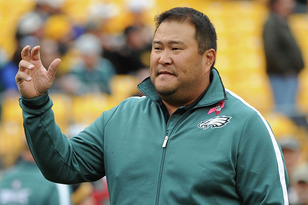 Eugene Chung, who was an assistant with the Chiefs and Eagles, told The Boston Globe he was told he was
