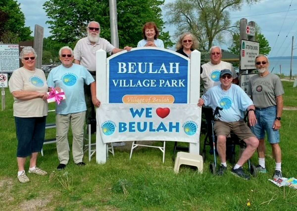 100 + Women Who Care Benzie is supporting the Beulah Booster's efforts to bring Music in the Park back in 2021 with a $11,800 donation.(Courtesy Photo)