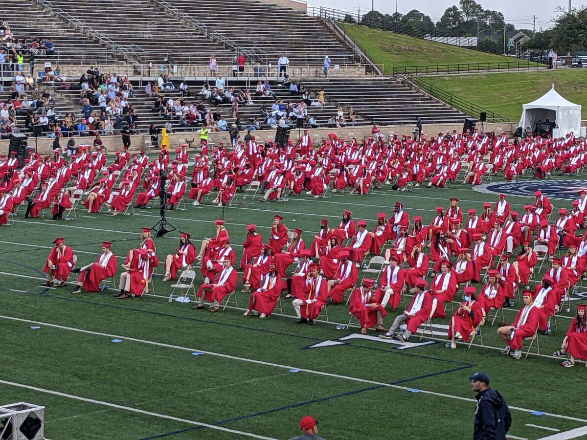 The Memorial High School class of 2021 graduated during a ceremony at Tully Stadium on May 21
