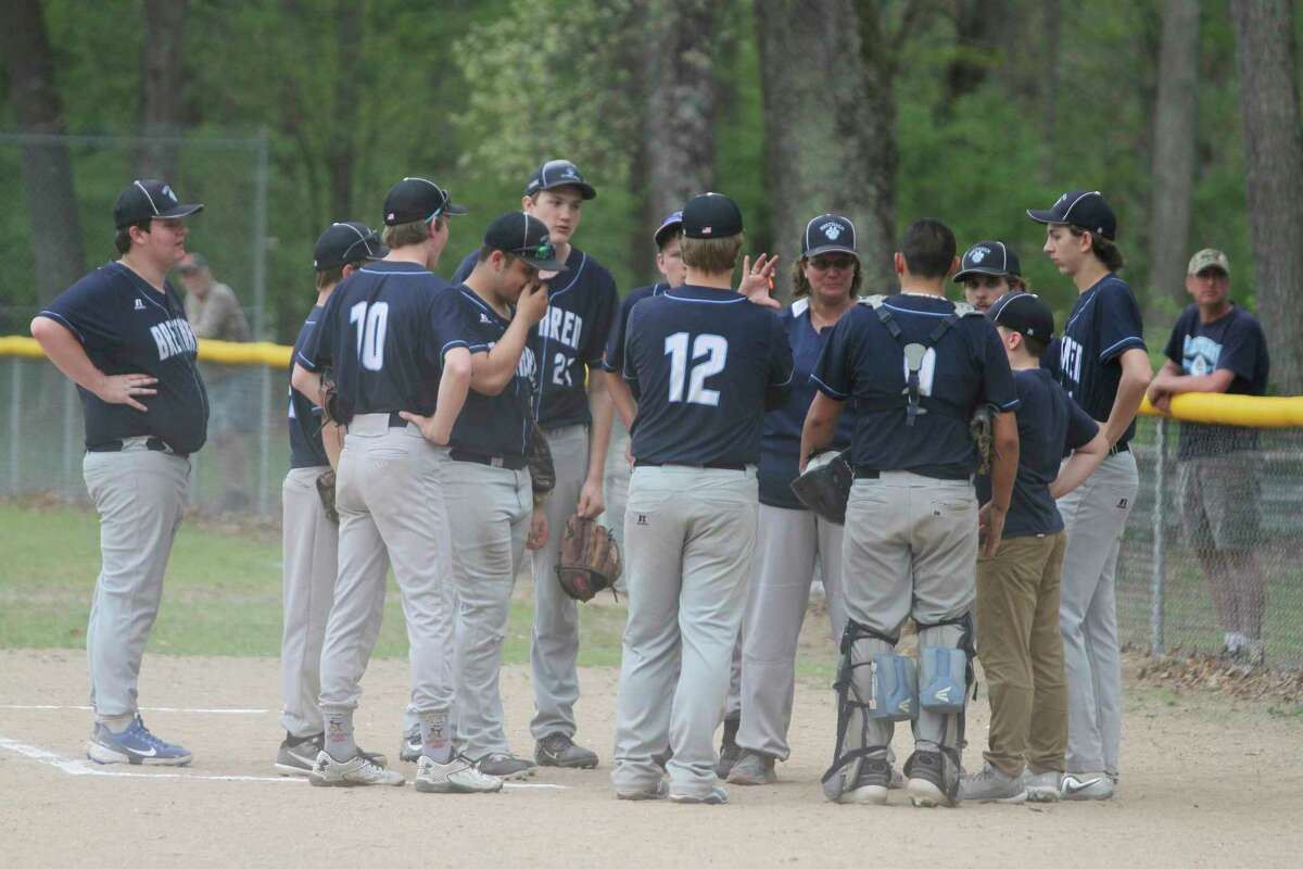 The Brethren baseball team had its six-game win streak snapped Monday on the road against Hart. (News Advocate file photo)