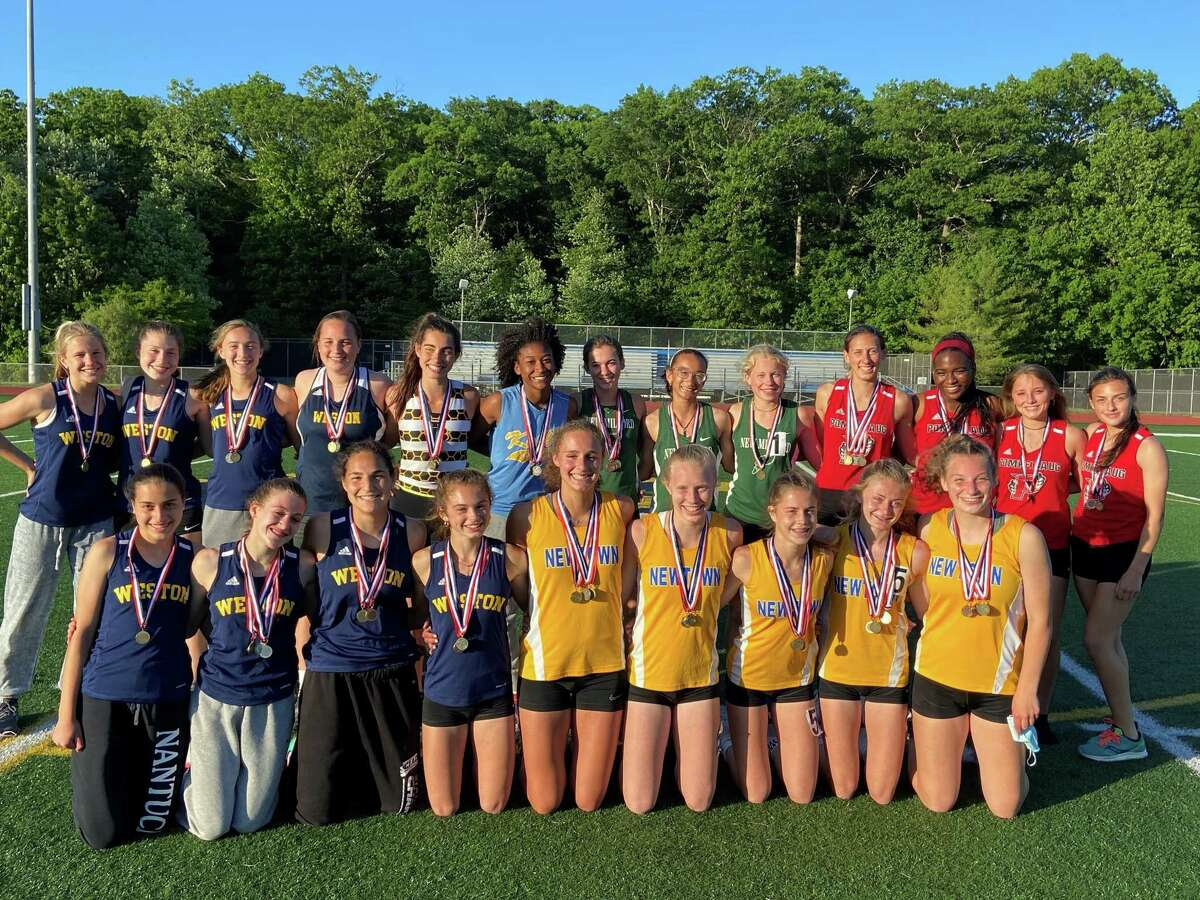South-West Conference girls' track champions.