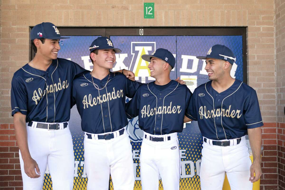 Alexander's Danny Salas, Robert Villareal, Robert Flores and Joel Garcia have played together since they were five years old.