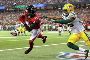 Despite already possessing many options at the position, the Cowboys would make sense as a trade destination for Falcons receiver Julio Jones.