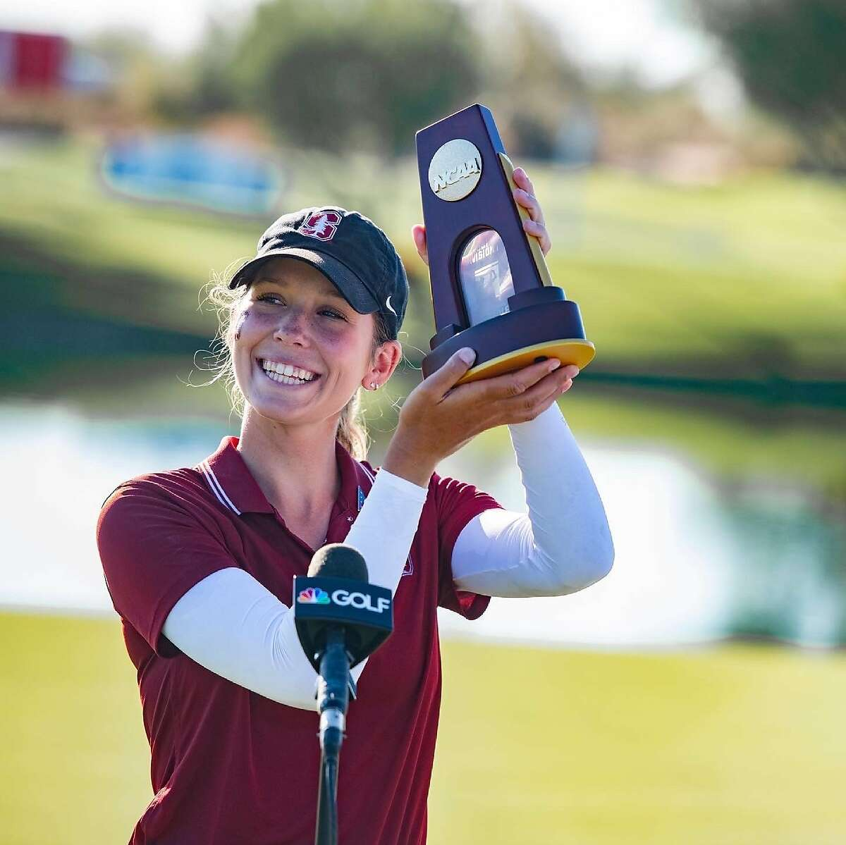 Freshman Rachel Heck became the first Stanford women's golfer to win the NCAA individual championship