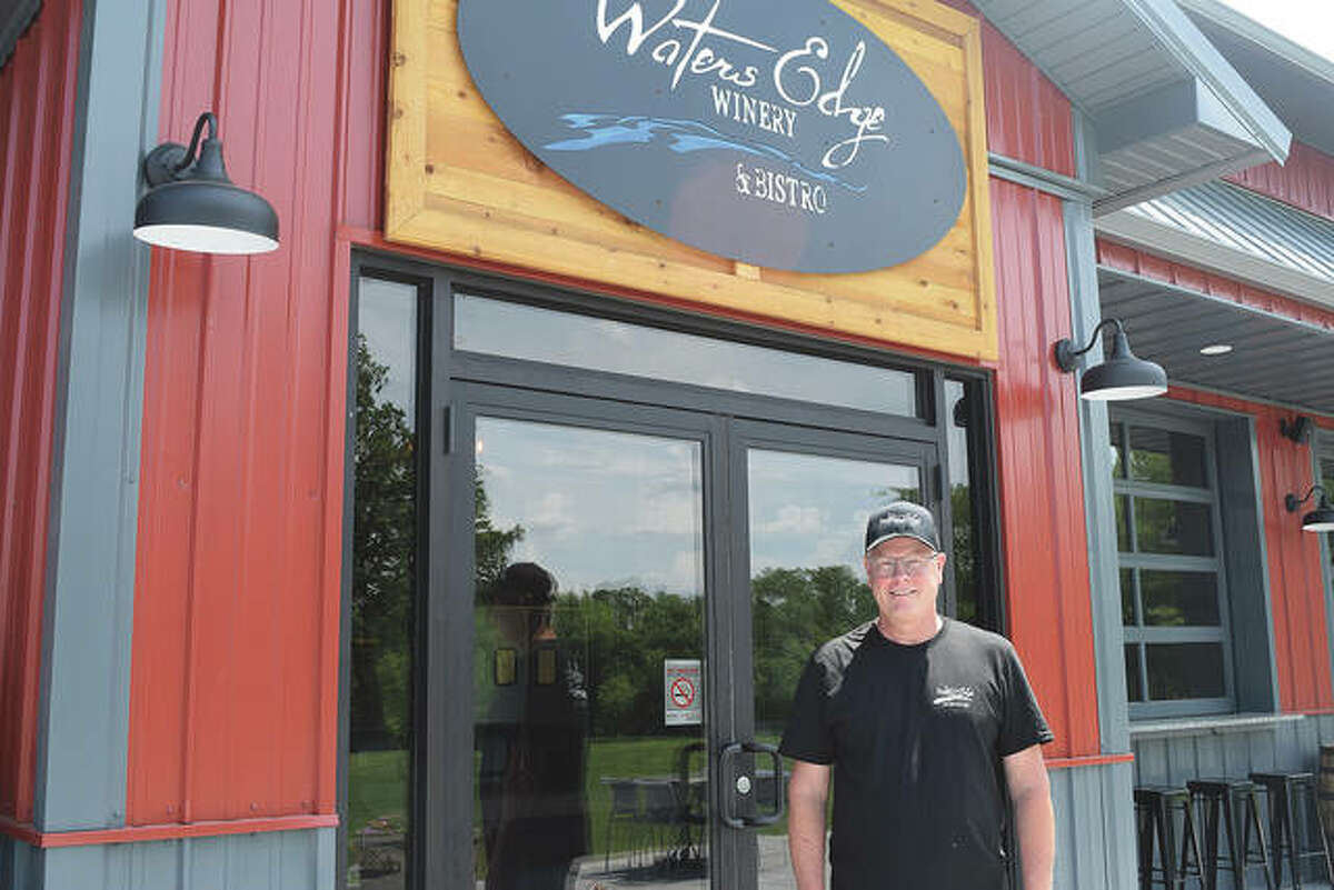 Mike Hayes is owner of Waters Edge Winery and Bistro in Jacksonville. The winery opened this weekend at 1061 E. Morton Ave.