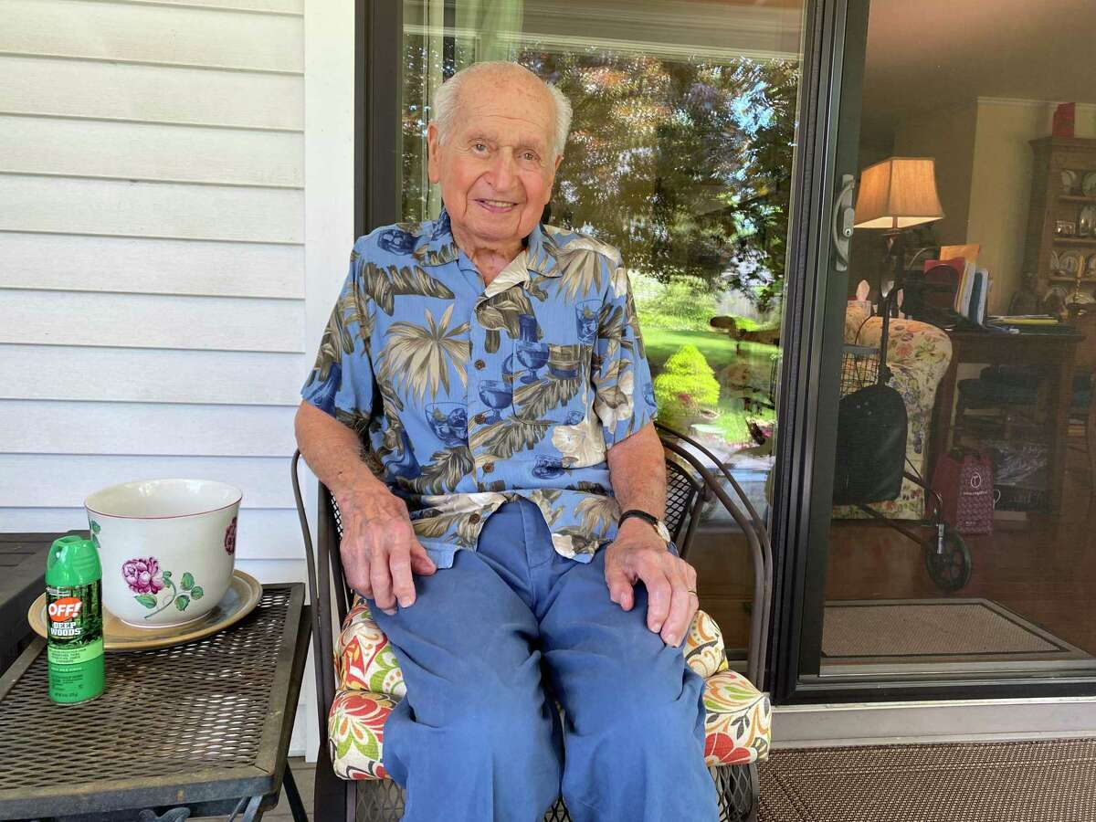 Larry Rivkin was in the U.S. Army Air Corps' 406th Squadron during World War II.