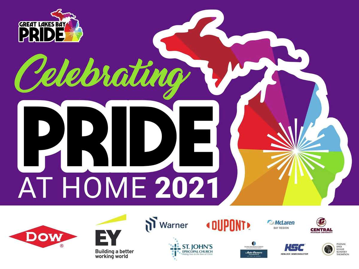 The Great Lakes Bay Pride planning team is excited to announce Celebrating Pride at Home 2021, a reimagined Pride Month celebration. (Photo provided)