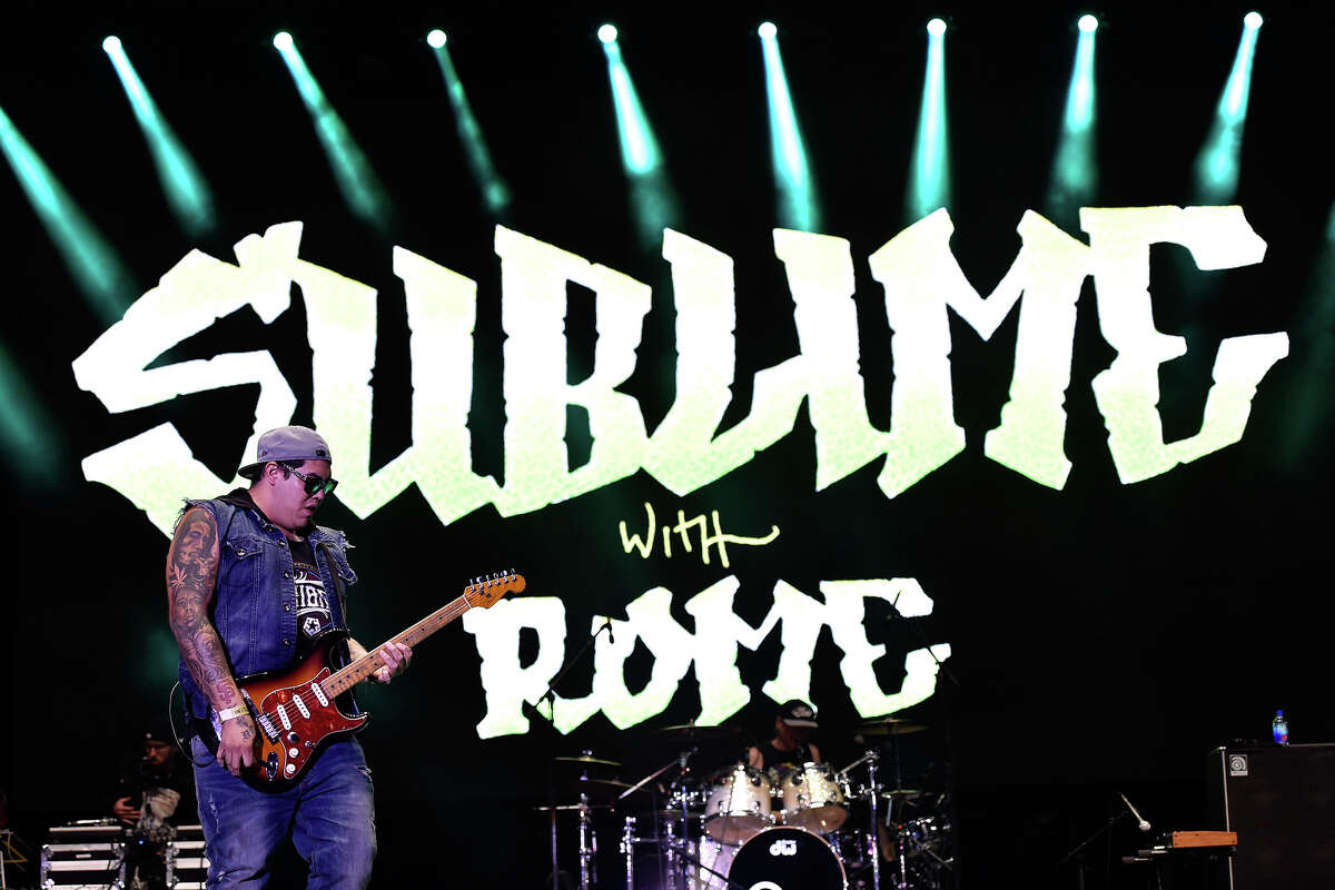 Sublime with Rome at the San Diego Bay Festival on July 10
