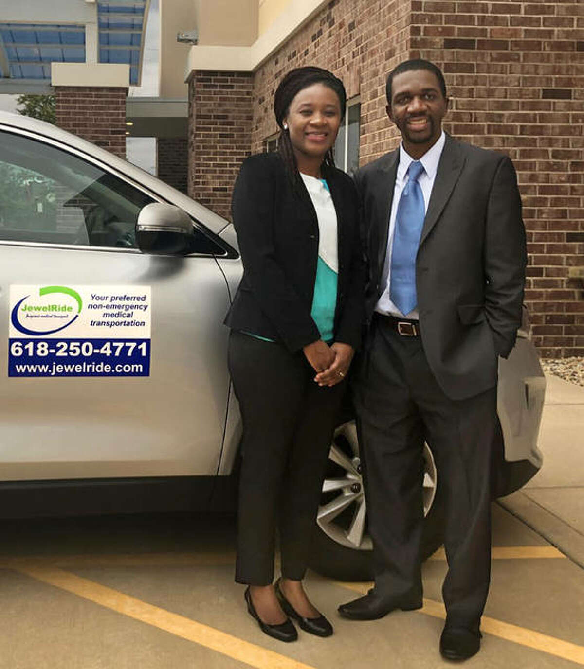 JewelRide owners Rutendo and Tapiwa Mupereki have received a Community Development Block Grant to provide transportation to COVID-19 vaccinations.