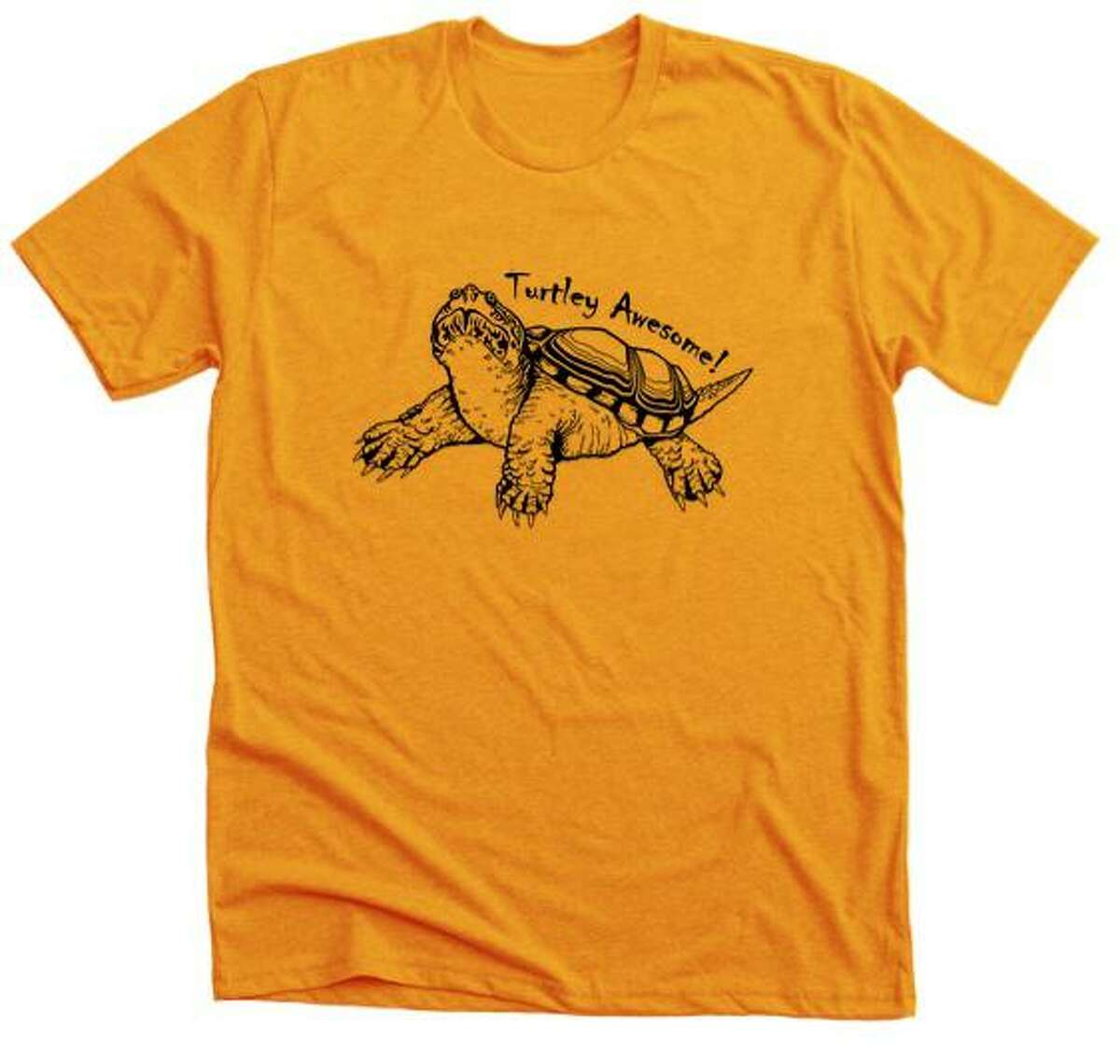 Attendees to the Wilton Street Fair and Sidewalk Sale this Saturday, July 24, will be able to pick up their Turtle t-shirts at the Woodcock Nature Center's table on the green at the sale, from the time the sale begins at 10 a.m. until its conclusion at 3 p.m.