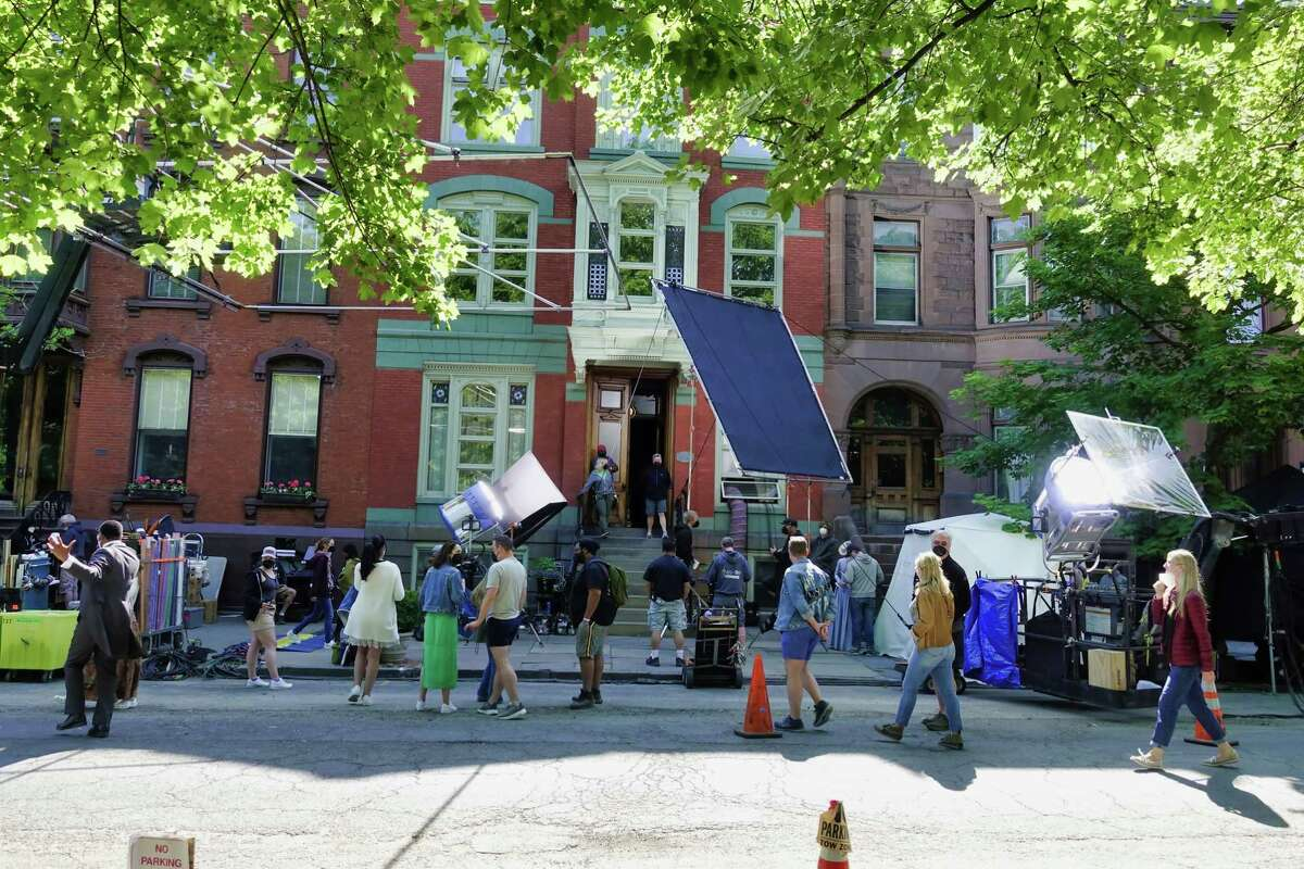 """FILE. Letter writer says, 'C.J. Lais Jr., in his article on the Capital Region's vibrant television and film industry, did a great job of highlighting the attention to detail that characterized filming of """"The Gilded Age"""" television series in Troy ('Past, present and future booming,' June 20).' (Paul Buckowski/Times Union)"""
