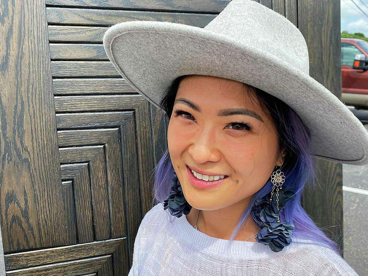Sichuan House owner Kristina Zhao is set to expand her footprint in the San Antonio market this summer with the opening of the Chinese restaurant Dashi Sichuan Kitchen & Bar on Thousand Oaks Drive at Jones Maltsberger Road. The door behind her was made by San Antonio craftsman Roland Davila.