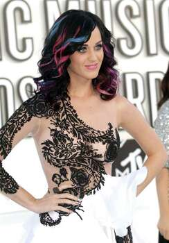 LOS ANGELES, CA - SEPTEMBER 12:  Singer Katy Perry arrives at the 2010 MTV Video Music Awards at NOKIA Theatre L.A. LIVE on September 12, 2010 in Los Angeles, California.  (Photo by Frederick M. Brown/Getty Images) *** Local Caption *** Katy Perry Photo: Frederick M. Brown, Getty Images / 2010 Getty Images