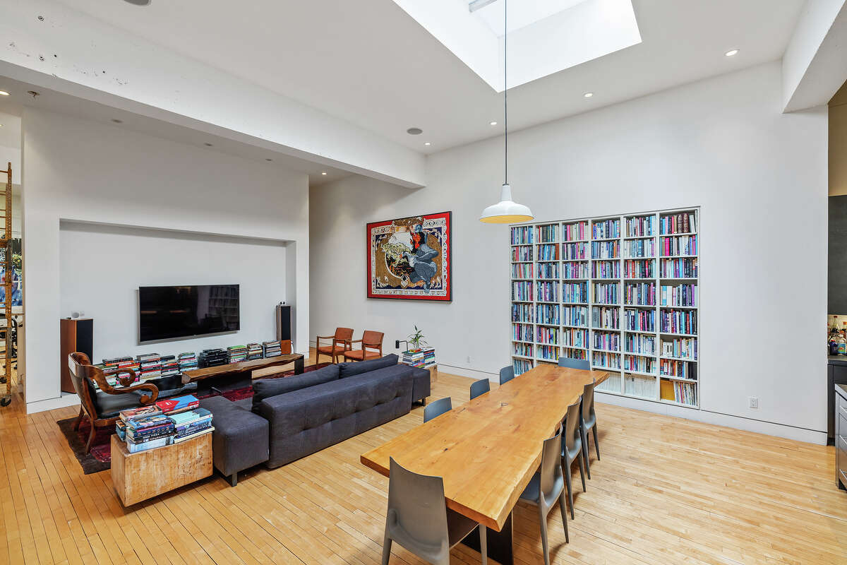 The building offers an incredible work-from-home set-up, with