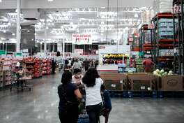 People shop at a supermarket in San Francisco Bay Area, California, the United States, May 4, 2021.