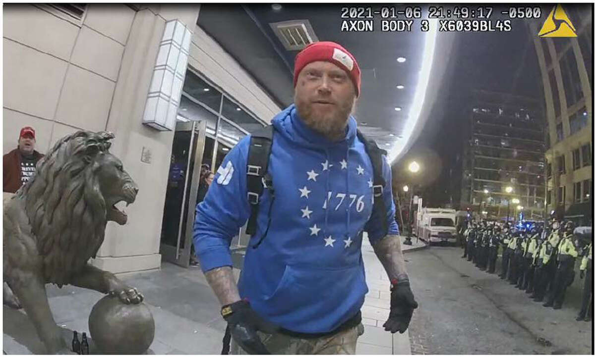 Houston resident Shane Jenkins can be seen on Capitol security footage during the riot, according to charging documents.