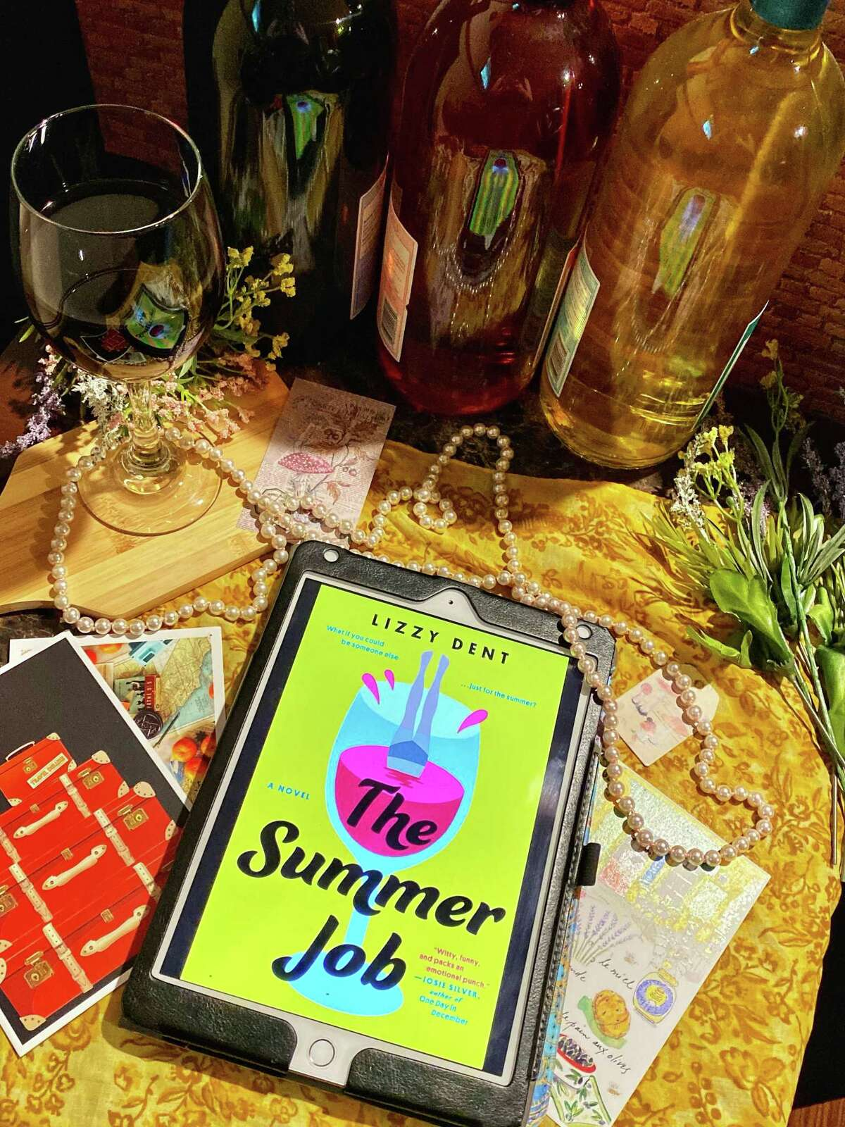 """""""The Summer Job"""" is Lizzy Dent's debut adult novel."""
