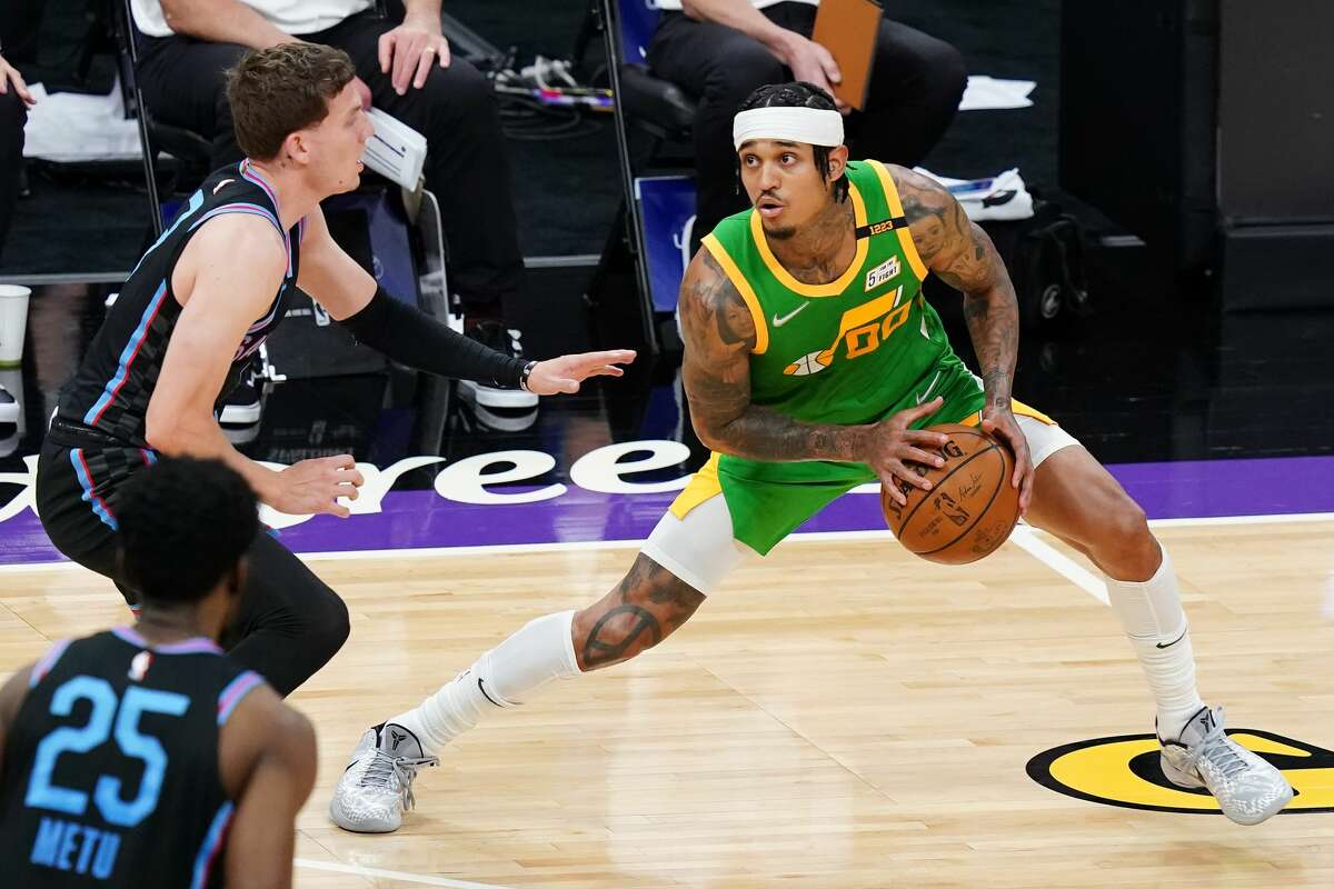 The NBA named Jordan Clarkson, Utah Jazz player and Wagner High School standout, the league's Sixth Man of the Year.