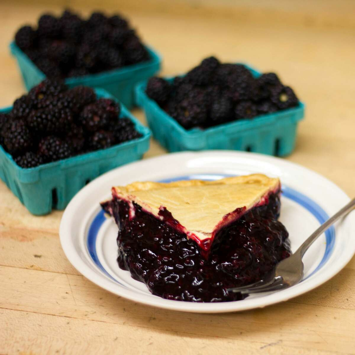 The marionberry pie is one of Ikeda's favorites.