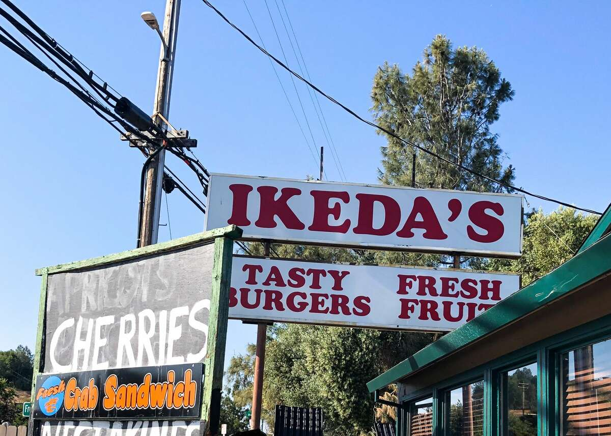 Ikeda's is a market and roadside restaurant on the way to Tahoe.