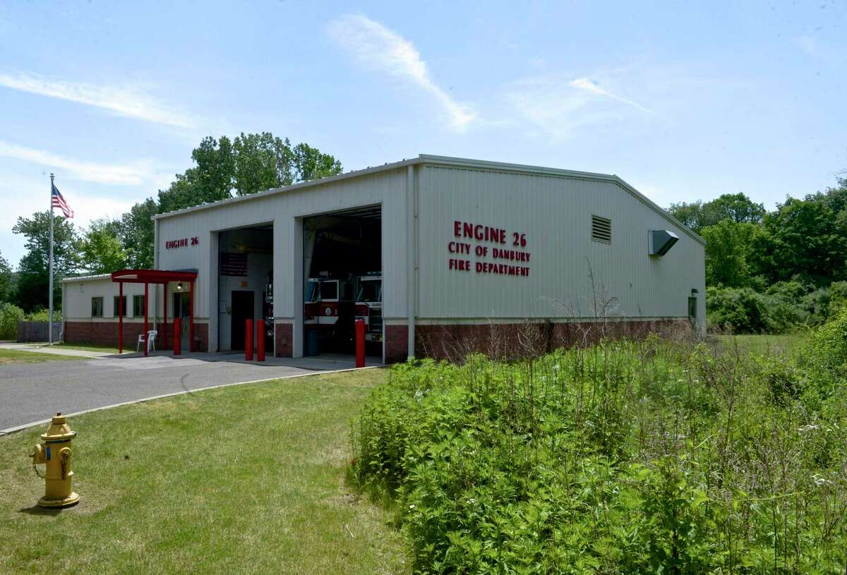 Danbury is looking to build a 7,000 square-foot addition to the city fire departments Engine Company #26 building on Kenosia Avenue. Tuesday, May 25, 2021, in Danbury, Conn.