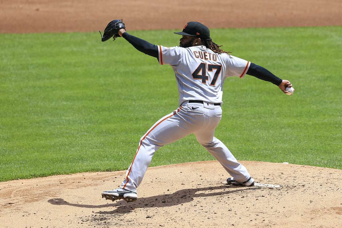 Johnny Cueto is scheduled to start for the Giants when they face Arizona in Phoenix at 6:40 p.m. Wednesday. (NBCSBA/104.5, 680).