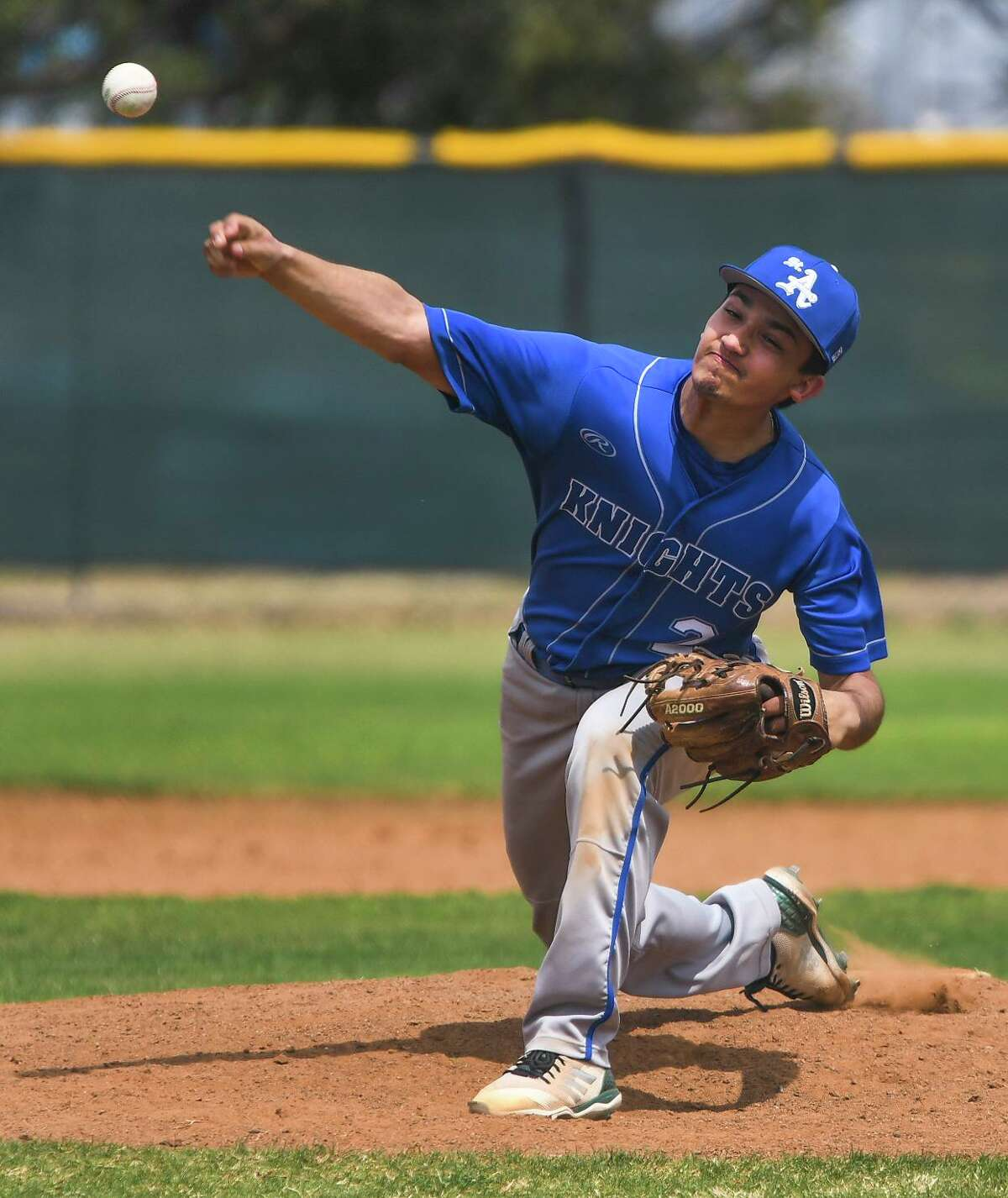 Andres Pescina was one of six St. Augustine players to earn all-district honors.