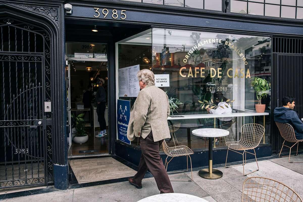 Cafe de Casa in San Francisco.