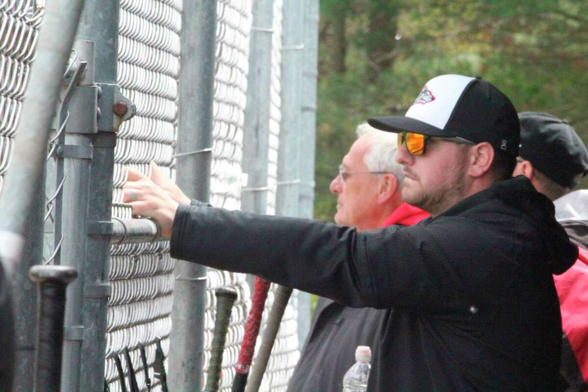 Coach Eric Grannis and the Reed City baseball team had a big night against Grayling. (Herald Reviewfile photo)