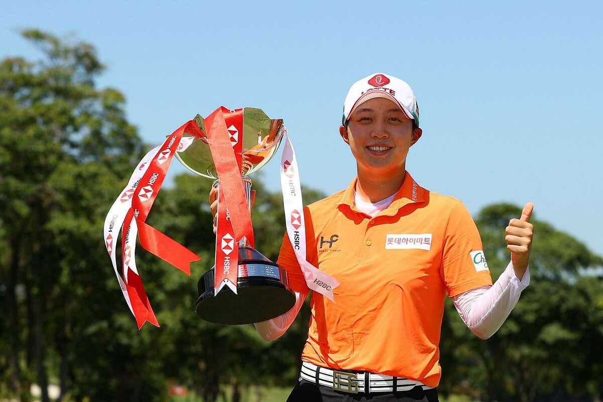 김효주, 싱가포르에서 5 월 우승.