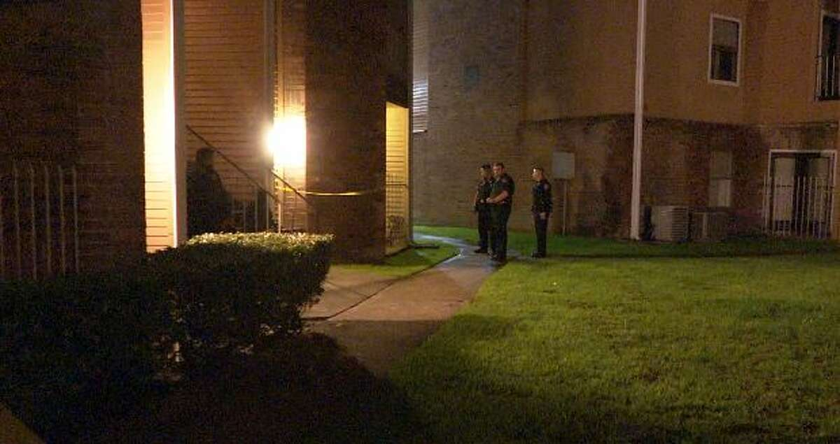 Two men were shot and pistol whipped during a suspected home invasion early Wednesday morning in southwest Houston, according to police.