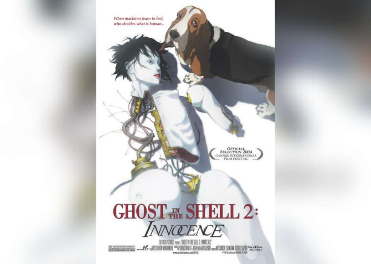 """#23. Ghost in the Shell 2: Innocence (2004) - Director: Mamoru Oshii - Stacker score: 82 - Metascore: 66 - IMDb user rating: 7.5 - Runtime: 100 minutes Loosely based on a manga series, this film follows a cyborg (Akio Ōtsuka) and his humanlike partner (Kōichi Yamadera) who are sent to investigate a spate of murders caused by robot sex dolls. """"Ghost in the Shell 2: Innocence"""" takes place in 2032 and is produced by Mitsuhisa Ishikawa."""